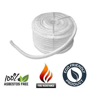 12mm Stove Rope Door Seal for Log / Multifuel / Wood Burners > Up To 10m >