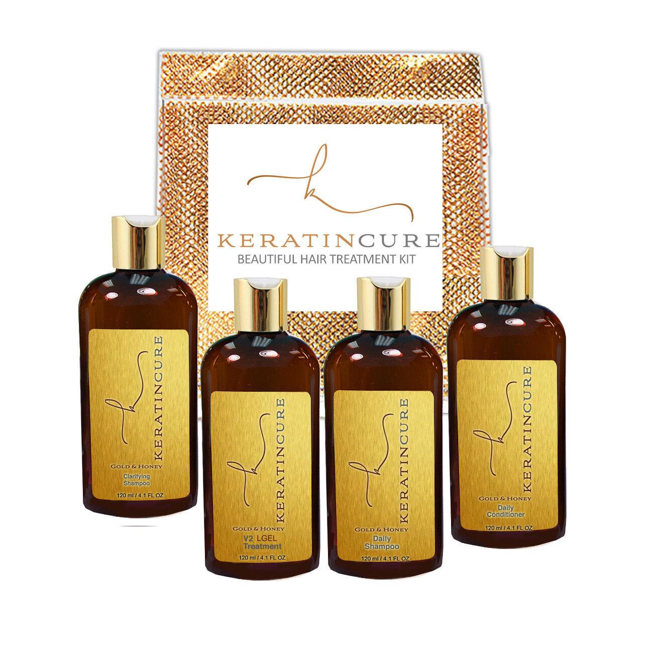 KERATIN CURE GOLD & HONEY V2 CREME HAIR STRAIGHT TREATMENT 6