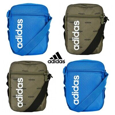Adidas Crossbody Bag Shoulder Messenger Side Bags Linear Cross Body Sling Small