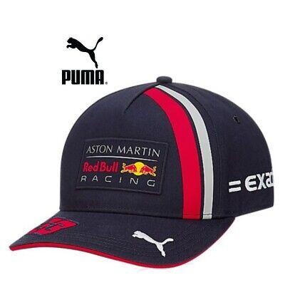 Puma Aston Martin Mens Baseball Cap Adjustable Hat Golf Sports Caps Navy Blue