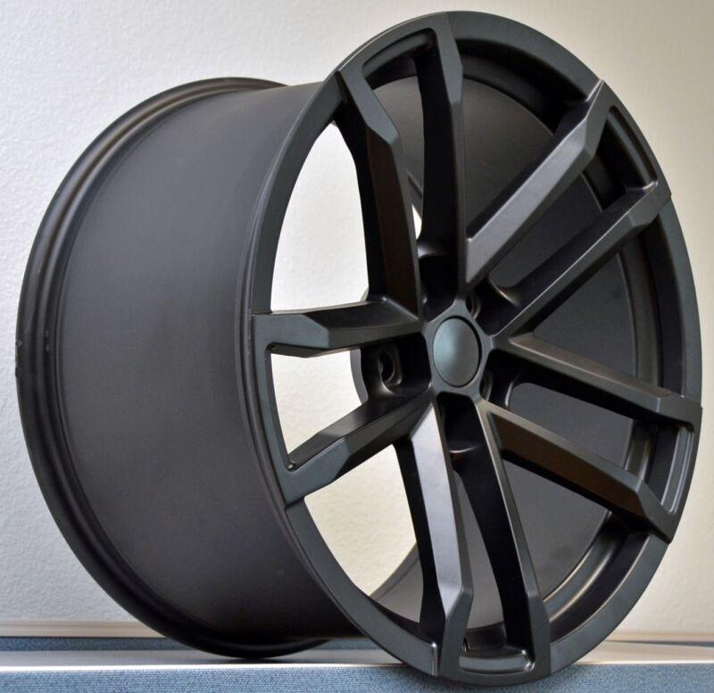 20 X 10 Zl1 Camaro Replica Wheel Rim Satin Black Fit Any Camaro 2010-up 5x120.65