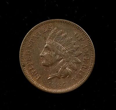 1867 Indian Head Cent! Still has some sharp details!