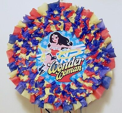 Wonder Woman Hit Pinata  - Wonder Woman Pinata