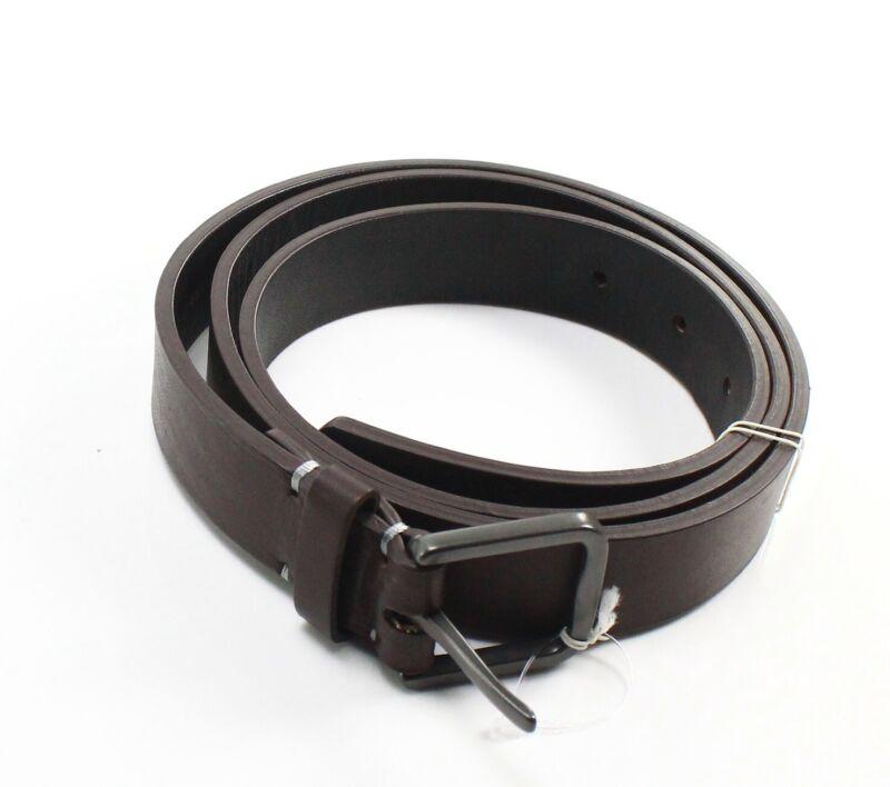 Upton Mens Belt Brown Size 32 Delta Uniform Brass Buckle Leather $125 579