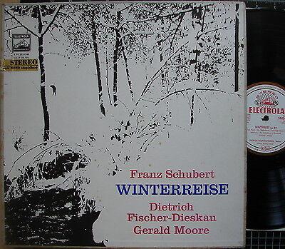 2er-Box SCHUBERT Winterreise - FISCHER-Dieskau - MOORE - Electrola SME 91239/40