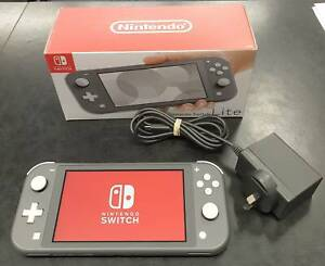 Nintendo Switch Lite Console Grey in Box with Charger Toukley Wyong Area Preview