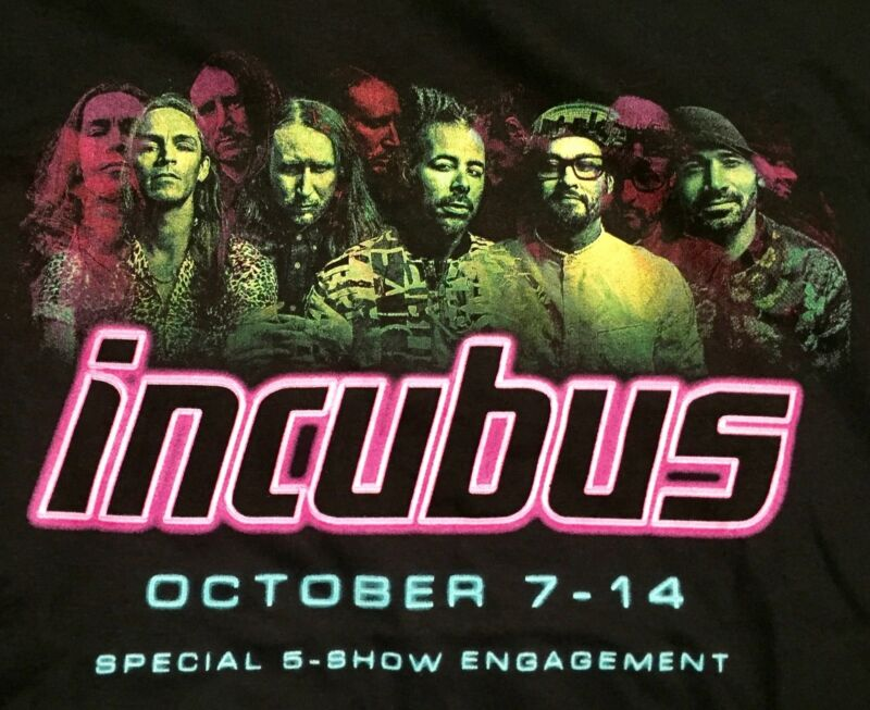 Extremely Rare, Unused INCUBUS Cancelled, Oct