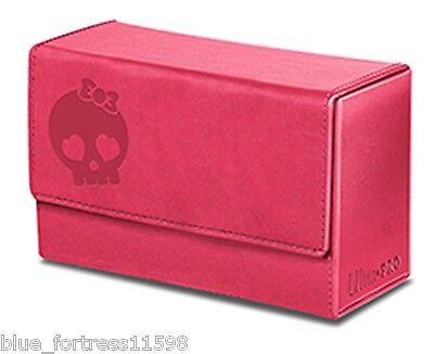 PINK GALAXY SKULL MANA DUAL FLIP BOX ULTRA PRO MAGNETIC DECK