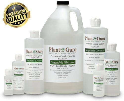 Vegetable Glycerin USP 99.9 % Pure Food Grade VG PG Liquid 1 oz - Gallon Bulk