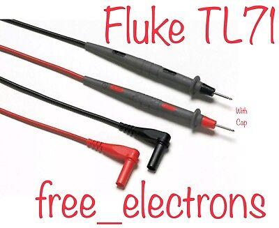 Fluke Tl71 Multimeter Test Lead Probe Ac72 Ac175 Tp88 Tl75 Tl221 Tl224 15 17 115
