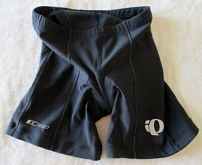 Men's Pearl Izumi 100 Select Cycling Shorts Black Style 0461 Size Small