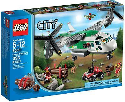 Brand New LEGO City 60021 Cargo Heliplane Factory Sealed Forest Logging Osprey