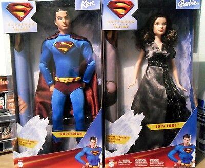 Superman Returns - Barbie Dolls - New in Box - Brandon Routh