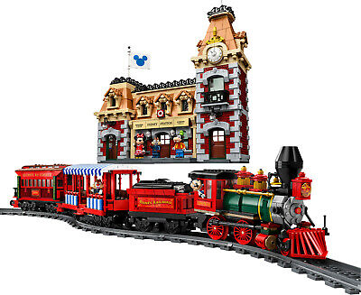 New Custom Train and Station 71044 Set With Powered ( See Details)
