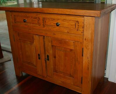 Handmade Solid French Oak Side Cabinet Avalon Pittwater Area Preview