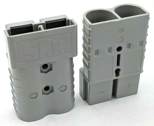 SY906 SMH Gray 350A Battery Connector Housing Pair