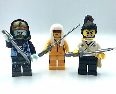 LEGO NINJAGO 3 Mini Figures Scott Harumi Okino 71708