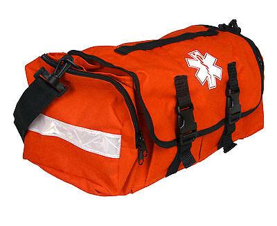 First Responder Emt Paramedic On Call Trauma Bag W Reflectors- Orange 17x7x10