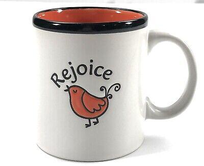 Rejoice Engraved Bird Faith Religious 2011 Christian Tea Coffee Mug Cup](Religious Coffee Mugs)