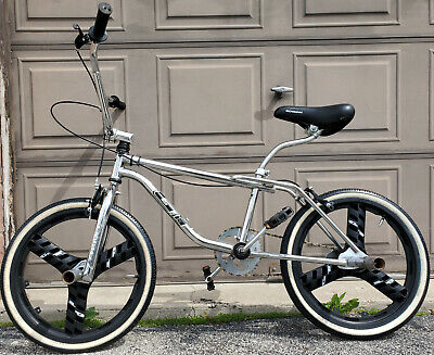 New Aftermarket GT Style Chrome Handlebar Freestyle Bmx Fit Dyno Performer Haro