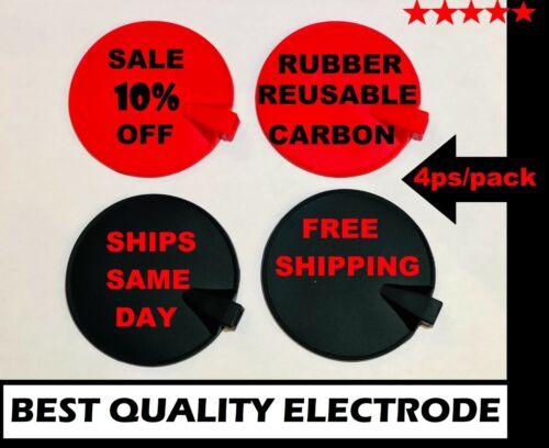 """Rubber Carbon Electrode for Dynatronics Dynatron Plus & Solaris Series, 4 PS, 3"""""""