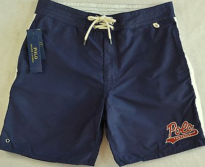 Polo Ralph Lauren Swim Trunks Swimming Board Lined Surfing Shorts 34 NWT