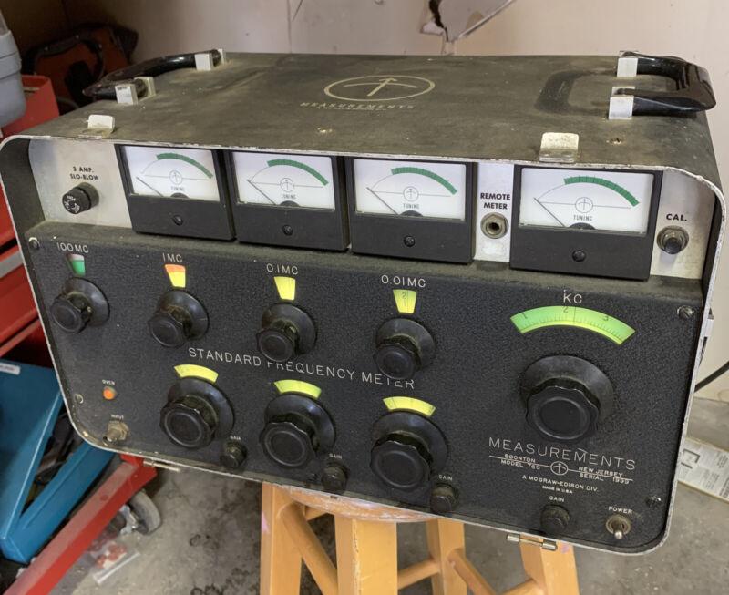BOONTON MODEL 760 Standard Frequency Meter