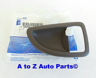 NEW Chevrolet Uplander,Pontiac,Buick LH Driver Side TAN Door Handle BEZEL,GM