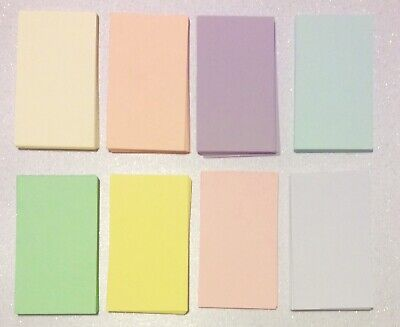 100 Assorted Blank Business Cards 3.5 x 2, Multi, flash card