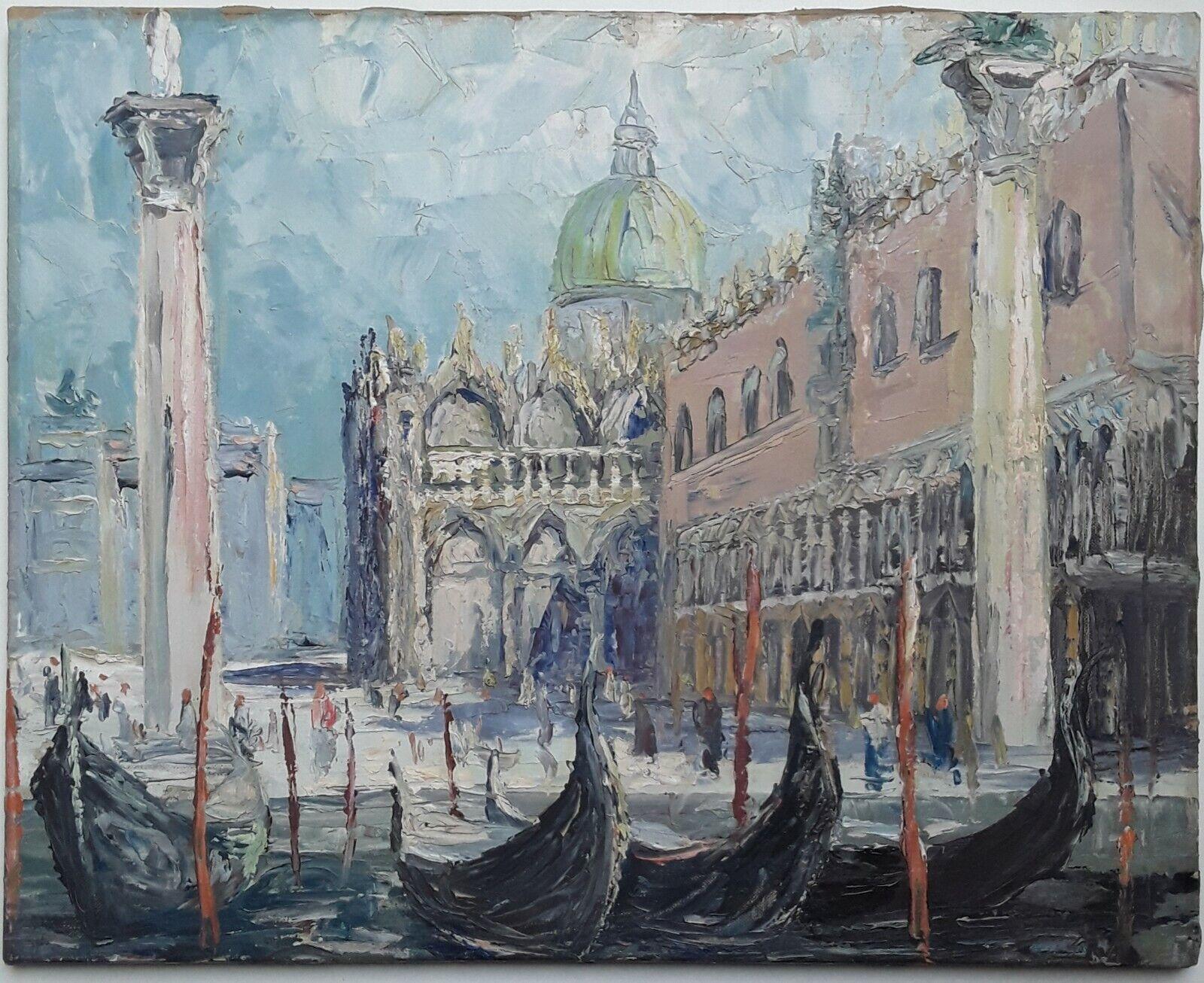 Impressionist, Venedig Venezia, Dogenpalast und San Marco