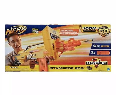 NERF Icon N-Strike Stampede ECS New Item - Minor Box Wear