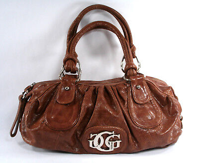 Guess Large Brown Signature Shoulder / Tote Bag