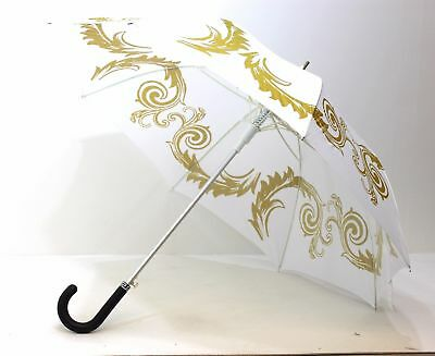 VERSACE MEDUSA UMBRELLA  WITH COVER