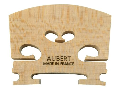 Genuine AUBERT Violin Bridge Made in France 4/4