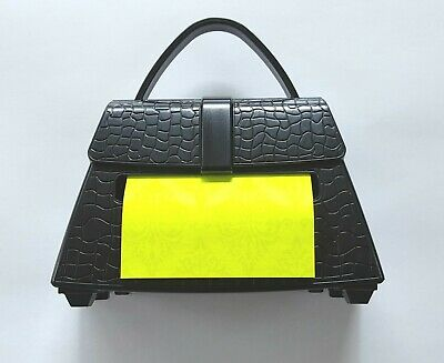 Post-it Alligator Purse Pop-up Note Dispenser 90 3x3 Notes Nip Weighted New