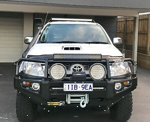 2008 Toyota hilux 4x4 turbo diesel reg + rwc Brunswick Moreland Area Preview