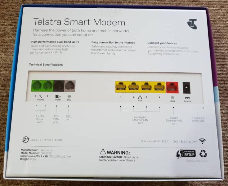 Telstra Dja0230 Nbn
