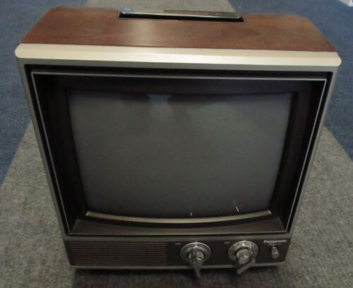 1983 Panasonic Color TV Television CT1110D Vintage 80s EXCELLENT CONDITION!