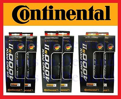 Pair Continental Grand Prix Gp 4000S Ii 700C X 23 25 28Mm Road Bike Tires Gp4000