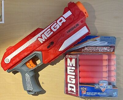 Nerf Mega Magnus with New 10 Pack of MEGA Darts