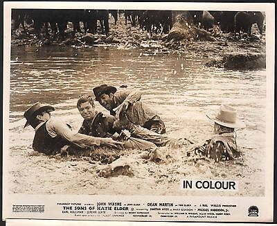 Sons Of Katie Elder John Wayne Michael Anderson Jr Earl Holliman  British 8X10