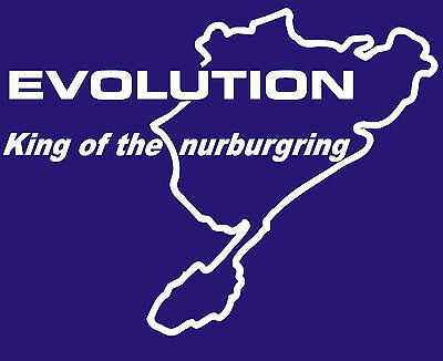 2x Nurburgring Cell Phone Sticker Mobile track