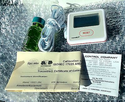 Vwr International Traceable Sentry Thermometer 15551-284 New -50 To 70 C