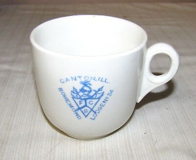 CANTON, IL.--VINTAGE--KNIGHTS OF PYTHIAS--BOHEMOND LODGE NO. 54--CUP