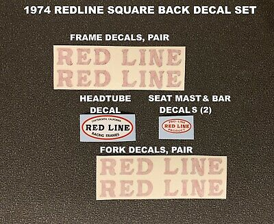 REDLINE Speciality Logos Flite Crank Decals and Others Crank Arms Choose 1 pair