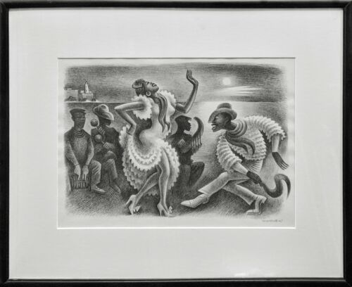 "Miguel Covarrubias ""rumba"" 1945  
