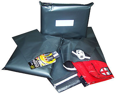 200 Strong Grey Mailing Post Mail Postal Poly Bags Postage Self Seal 12