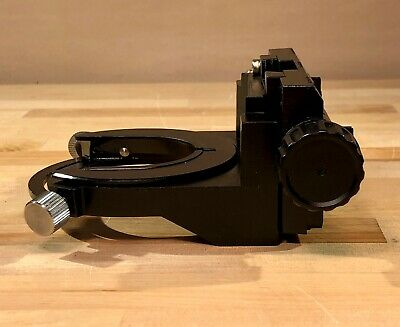 Nikon Eclipse 50i Condenser Rack Assembly With Focus Shaft