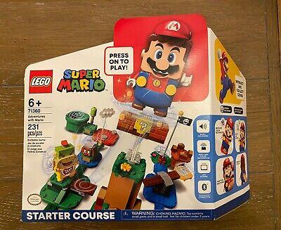 Lego Super Mario Set 71360 (Adventures Starter) & 71367 (Mario's House & Yoshi)