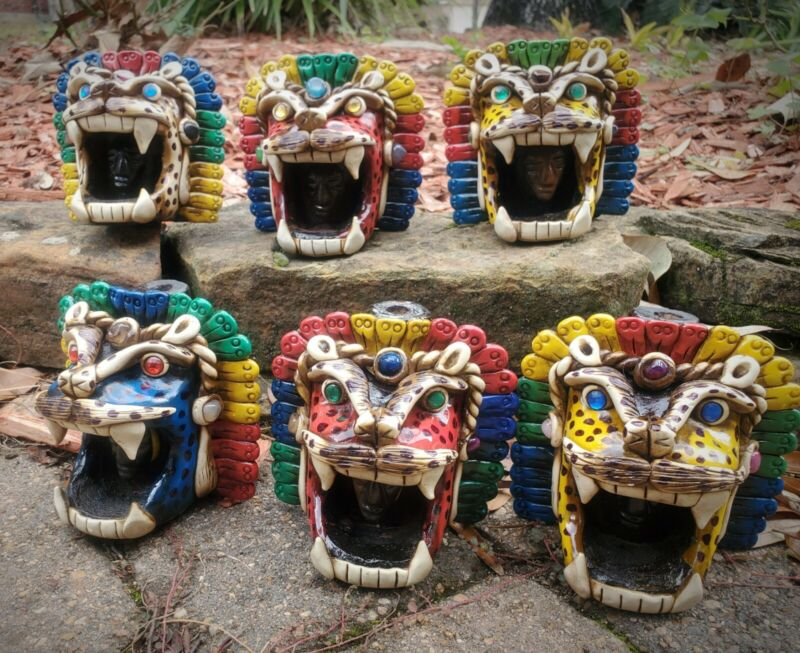 Jaguar Whistle Theotihuacan Art
